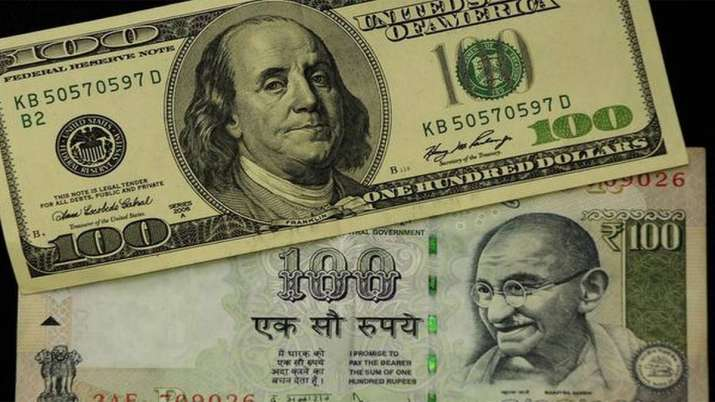 Rupee freefall continues, down 5 paise in early trade against US dollar