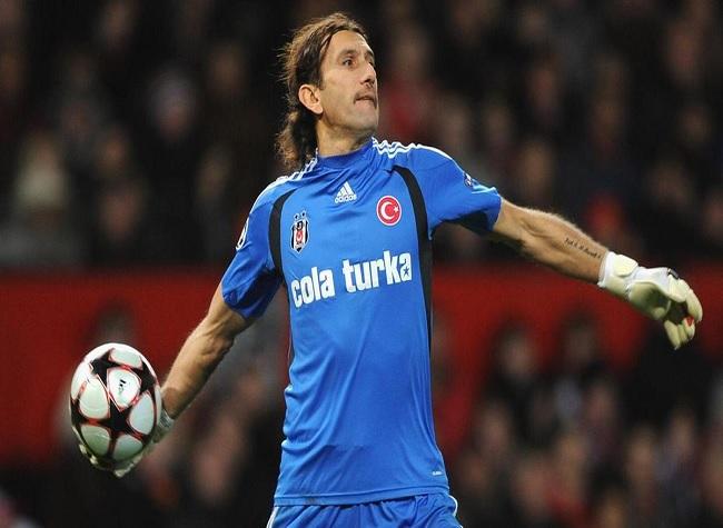 Former Turkey goalkeeper Rustu Recber