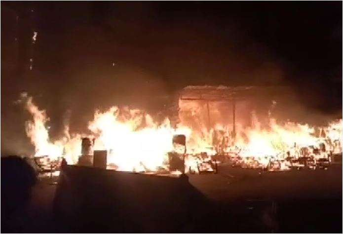 Fire at Shaheen Bagh doused, no injuries reported