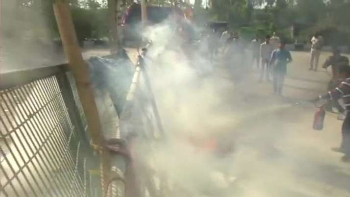 Shaheen Bagh, Protesters, Petrol Bomb