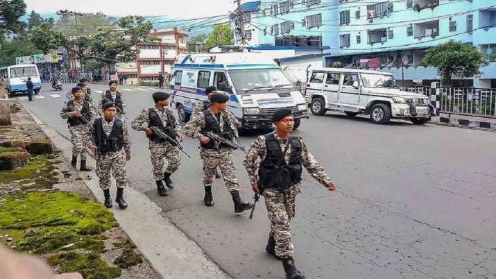 Night curfew lifted in parts of Shillong, situation remains tense