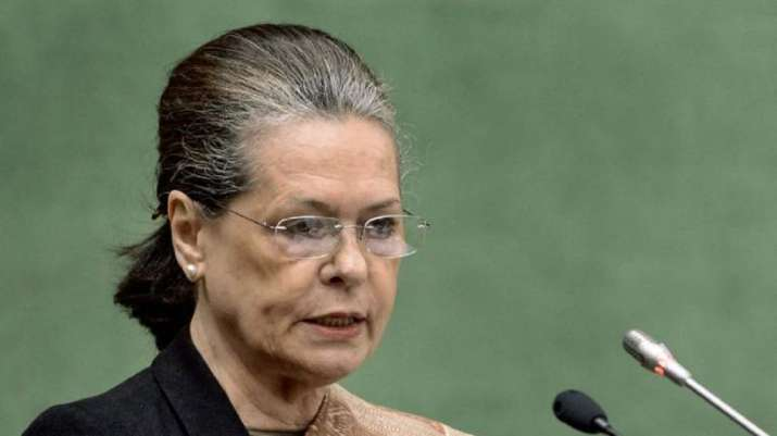 A file photo of Congress President Sonia Gandhi