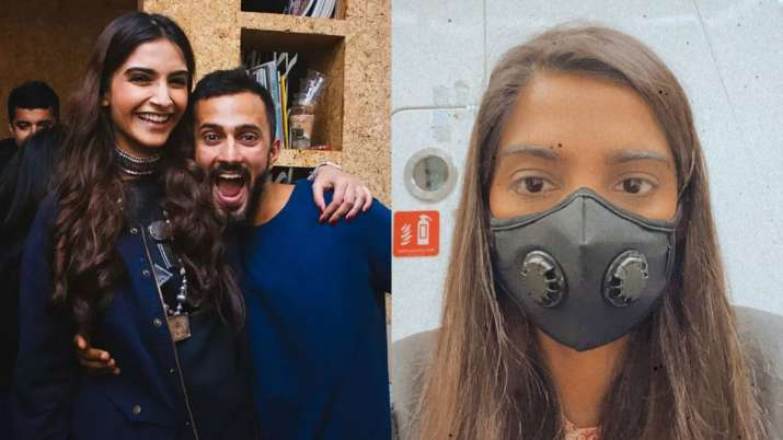 Sonam Kapoor lauds India's response to coronavirus as she returns fromLondon with husband Anand Ahu