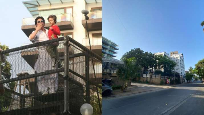 Heres how Shah Rukh Khan's and house of other celebrities look like from outside on 'Janta Curfew'