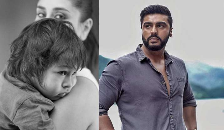 Arjun Kapoor lashes out at troll for derogatory comment on Kareena and Taimur's picture thumbnail