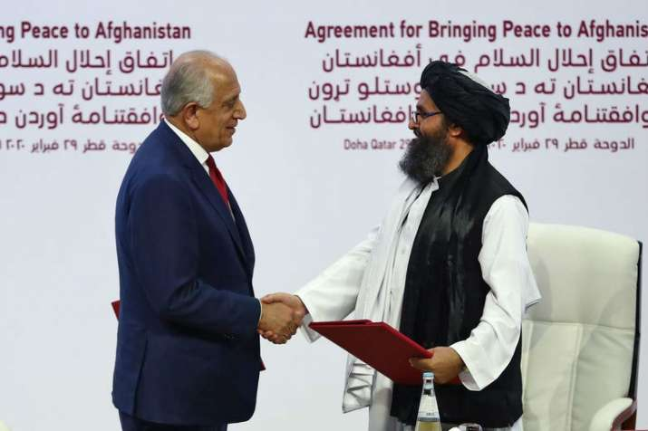 Peace deal with Taliban is conditions-based agreement