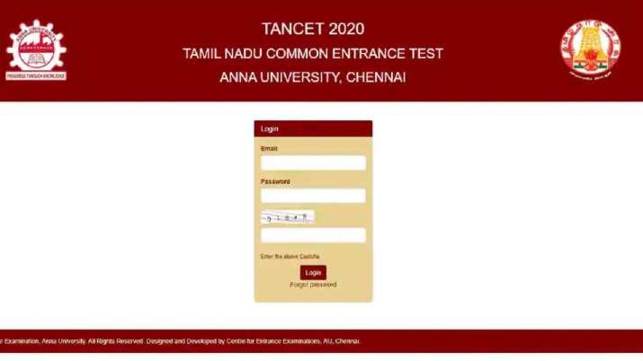 TANCET 2020: Anna University announces TANCET 2020 result;