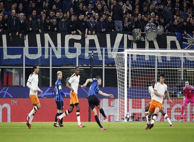 Atalanta vs Valencia Champions League match