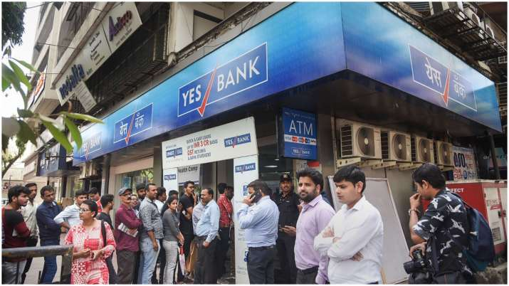 Yes Bank customers scramble for cash withdrawal at branches, most ATMs run dry