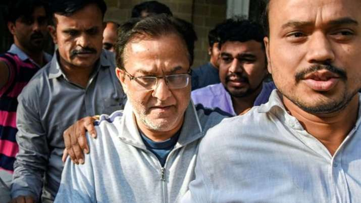 Yes Bank founder Rana Kapoor being taken to a court after