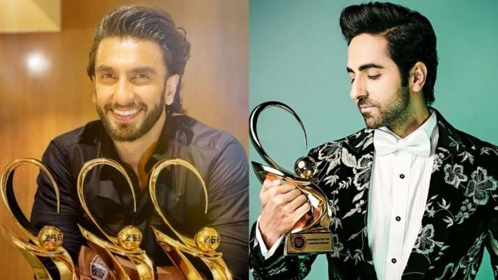 Despite coronavirus, Ranveer Singh, Ayushmann and other Bollywood celebs rock the party at an award