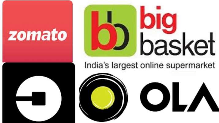 zomato, swiggy, ola, uber, bigbasket, grofers, coronavirus, coronavirus lockdown in india, digital i
