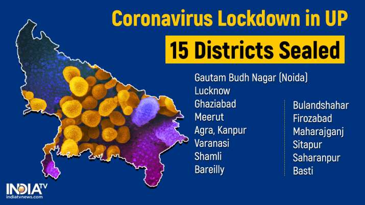 15 UP districts including Noida, Ghaziabad, Meerut sealed