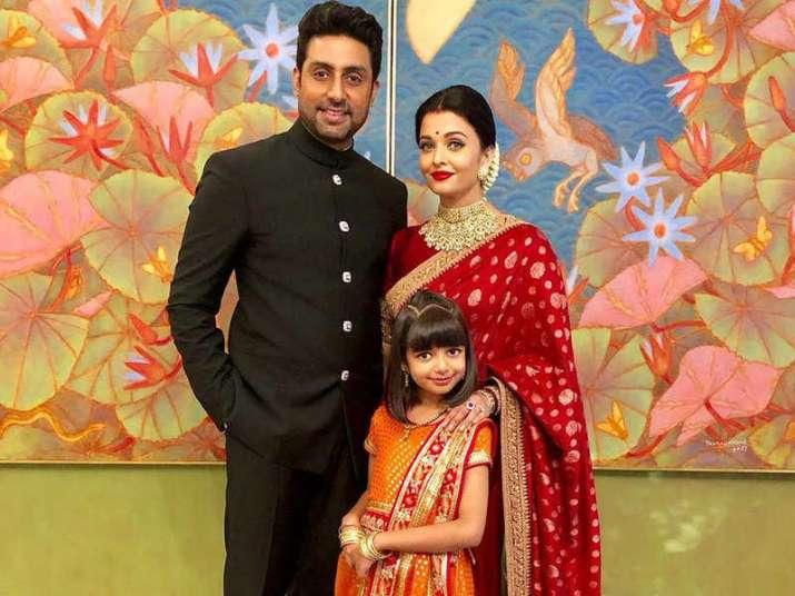 Aishwarya and Abhishek Bachchan's 13th wedding anniversary ...
