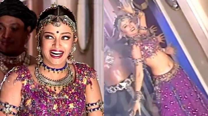 Aishwarya Rai Bachchan's video from an unreleased film shoot with Suniel Shetty goes viral