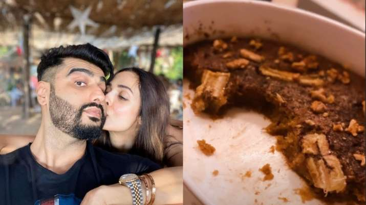 Arjun Kapoor relishes on dessert made by ladylove Malaika Arora amid COVID-19 lockdown