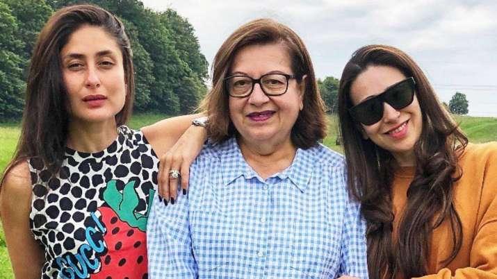 Karisma and Kareena Kapoor are missing mom Babita on her 73rd birthday. See photos