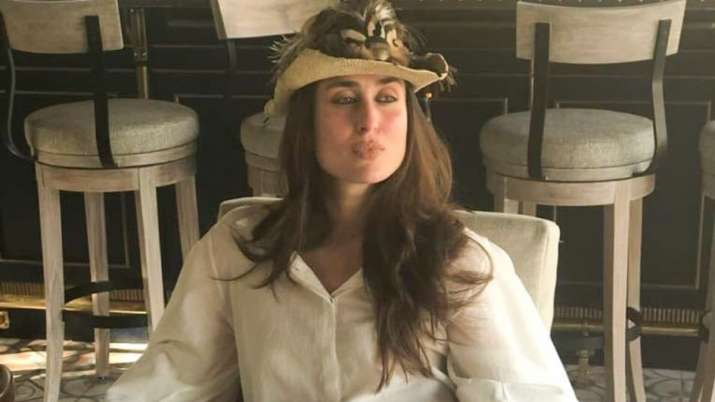 Kareena Kapoor Khan decides to go into the 'work from home' mode in her style. Here's the result