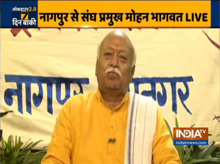 RSS chief Mohan Bhagwat weighs in on Tablighi Jamaat controversy ...
