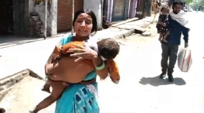 The Sadar Hospital allegedly did not provide the child with