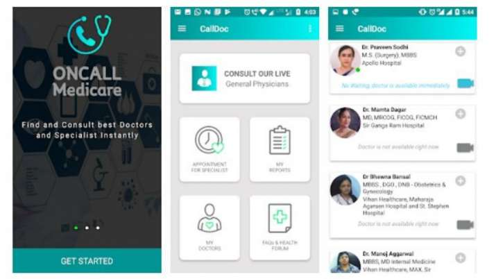 calldoc, calldoc app, telemedicine, calldoc app gives free medical consultation in delhi, calldoc co
