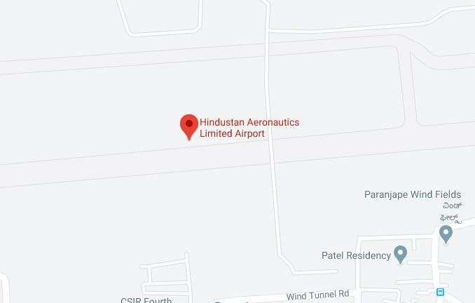 Fire breaks out at old HAL Airport in Bengaluru