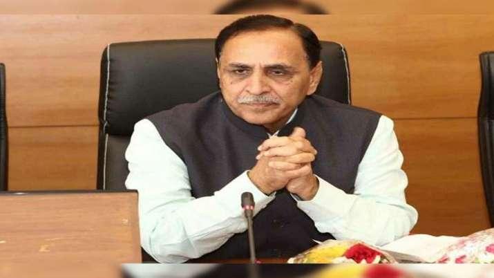 Gujarat Chief Minister Vijay Rupani/File