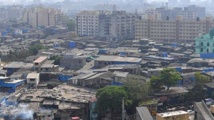 A view of Dharavi slums in Mumbai (file photo)