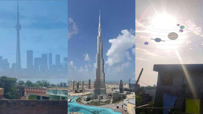 As air quality improves, people joke about seeing Canada, Burj Khalifa, and solar system from their