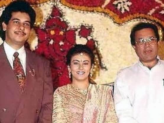 India Tv - Ramayan's Sita aka Dipika Chikhlia's wedding reception photo goes viral, Rajesh Khanna also attended