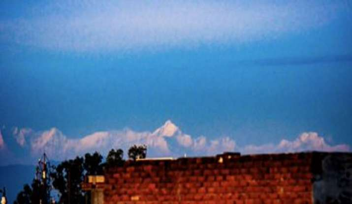 View of the Himalayas from Saharanpur: Thanks to improved AQI due to lockdown