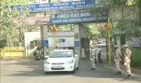 Another nurse tests positive for Covid-19 in Delhi's Hindu Rao Hospital