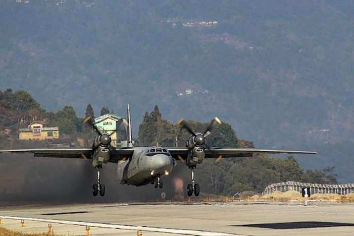 IAF plane carrying COVID-19 supplies catcIAF plane hes fire soon after taking off from Agra air base