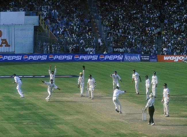 Harbhajan Singh traps Glenn McGrath of Australia for an lbw