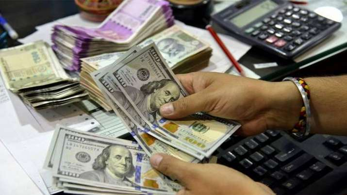 Rupee recovers from all-time to end at 76.68 against US dollar