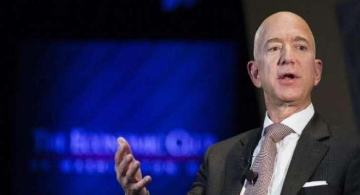 A file photo of Amazon CEO Jeff Bezos