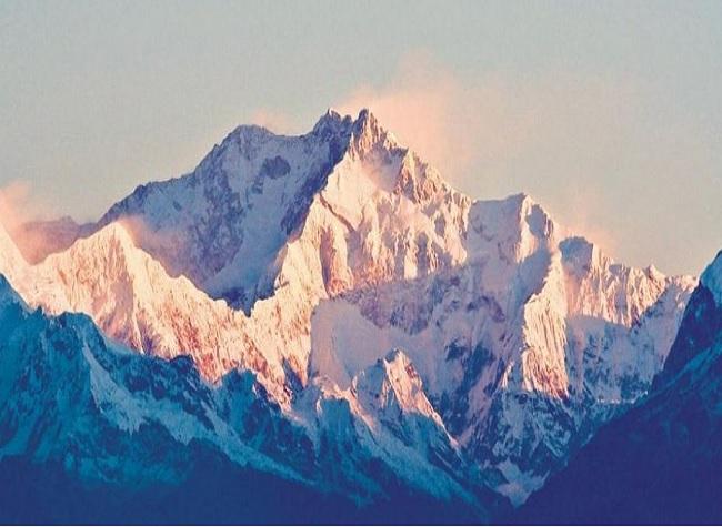 Kanchenjunga mountain ranges