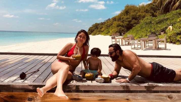 Kareena Kapoor's throwback beach photo with Saif Ali Khan, Taimur will remind you of your last vacat