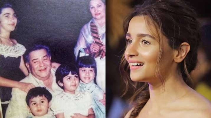 Alia Bhatt spots Ranbir Kapoor, Kareena in throwback photo shared by Karisma Kapoor. Can you?
