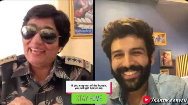 Kartik Aaryan to chat up police personnel on episode 3 of his chat show 'Koki Poochega'