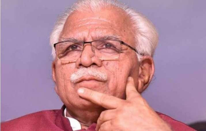 Haryana Chief Minister Manohar Lal Khattar/File