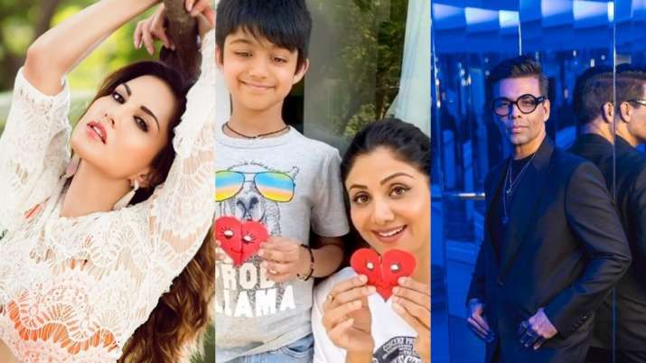 Sunny Leone, Shilpa Shetty to Karan Johar, here's how Bollywood celebs are parenting in quarantine