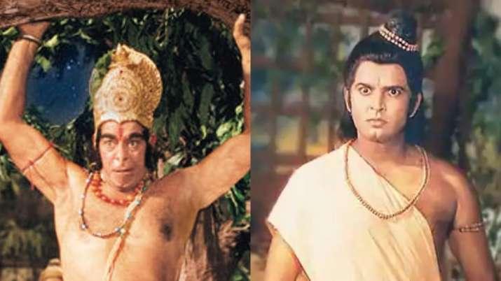 Ramayan's Lakshman aka Sunil Lahri and Hanuman aka Dara Singh's rare BTS photo will make your day