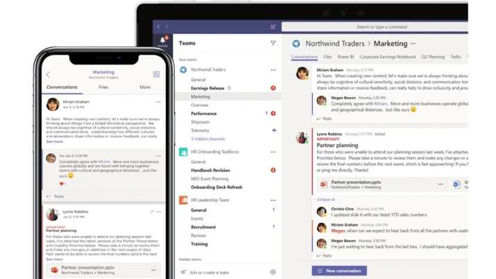 Microsoft Teams Gets Custom Background Support To Challenge Zoom Technology News India Tv