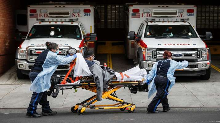 New York state registers 783 more deaths: Governor Cuomo