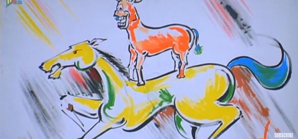 India Tv - Majnu Bhai's painting