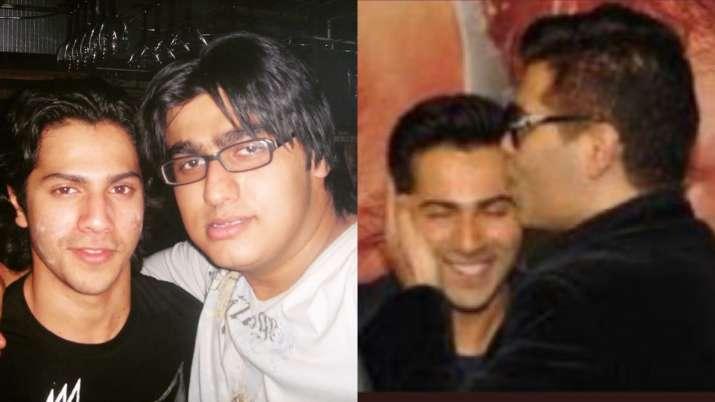 Arjun Kapoor, Karan Johar wish Varun Dhawan on birthday with throwback photos