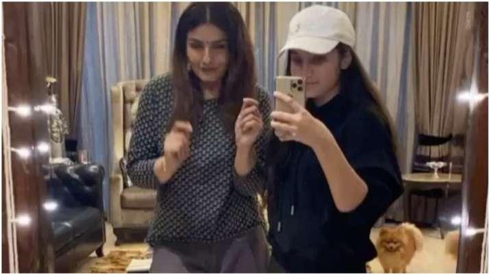Raveena Tandon makes TikTok debut, see her fun videos with daughter Rasha thumbnail