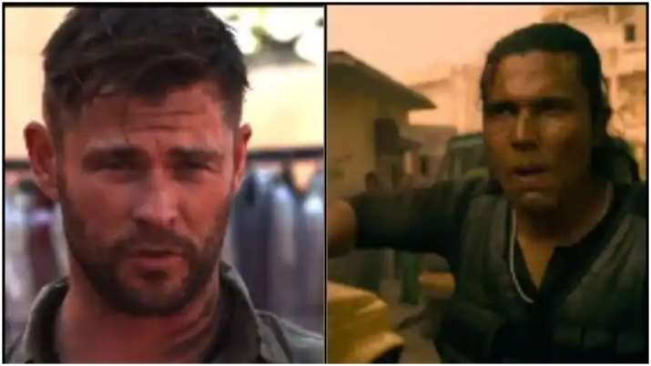 When Chris Hemsworth Says Mujhpar Bharosha Karte Ho In Extraction Hindi Trailer Watch Entertainment News India Tv