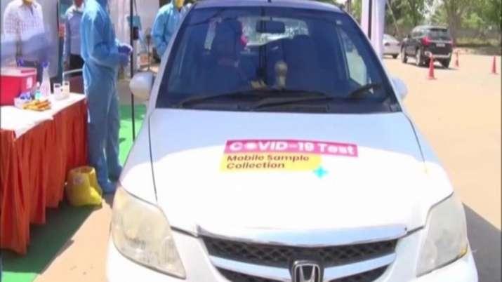 Drive-through coronavirus testing centre launched in Gurugram